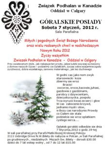 Posiady góralskie 2012