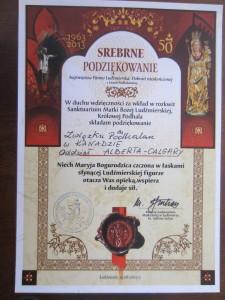 50 lecie koronacji Matki Boskiej Ludźmierskiej